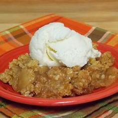 This is the best recipe I have ever made for Apple Crisp!  @Allrecipes.com