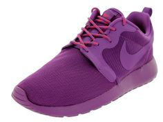 newest 6dc85 dc7b6 Nike Women's Nike Rosherun HYP Vlt Shd/Vlt Shd/Lsr Crsm/Vlt Running Shoe  5.5 Women US