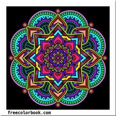 Mandela Art, Chicano Lettering, Magic Design, Stained Glass Paint, Ceiling Art, New Media Art, Design Tattoo, Celtic Art, Awesome