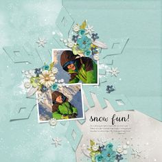 Digi My Sweet Snowflake Art, Creative, Digital Scrapbooking