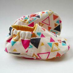 coudre des chaussons pour bébé diy