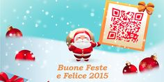 Shin Design Renzullo augura a tutti voi Buone Feste e un Felice 2015. Vi invita inoltre a seguire il Codice QR mostrato da Babbo Natale  COMUNICAZIONE ALLA CLIENTELA: Chiusura di Natale: dal 25.12.2014 al 6.1.2015  CLIENTI SHIN HOSTING e GOOGLE GMAIL: Contatto via SMS: +41 78 659 49 77 Contatto via EMAIL: info@shinhosting.ch  Grazie. Hosting, Christmas Ornaments, Holiday Decor, Google, Design, Home Decor, Party, Text Posts, Decoration Home