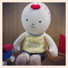 Sinbi, young boy. Designed by Hanz, Baby's 1st dolls and soft toys. using organic cotton fabric. http://www.hanz.co.kr