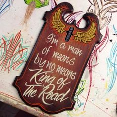 Pinstriping, Hand Painted Signs, Bottle Opener, Wall, Painting, Ideas, Home Decor, Key Bottle Opener, Homemade Home Decor