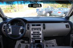 Ford Flex interior.