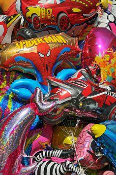 90s KIds Balloons /// www.art-by-ken/com