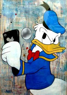 23 Completely Hilarious Photos of Disney Characters Caught Taking Selfies - M Magazine
