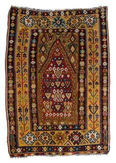 Erzurum kilim 5ft. 7in. x 4ft. 1in. (171 x 124 cm) Turkey circa 1870