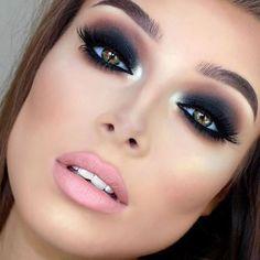 """Stunning look by @jessicarose_makeup  #vegas_nay #style4makeup"""