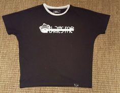 255ad620ed307 BSX 'that's me' logo black and white tshirt M - 10/12 #