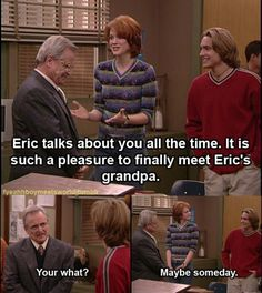12 Reasons Eric & Mr. Feeny Had the Most Underrated Bromance on 'Boy Meets World' | Her Campus