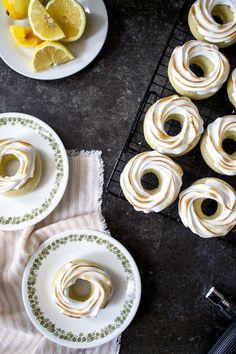 Lemon Meringue Donuts Recipe