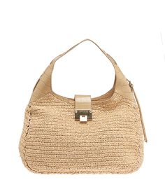 This Jimmy Choo Tan Raffia & Croc Embossed Leather Rajan Hobo Bag is now available on our website for $210.00. Check out our full collection of authentic Jimmy Choo items at http://cashinmybag.com/?s=jimmy+choo&post_type=product. Our bags do sell very quickly. But don't worry, new items are listed daily.