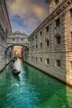 The Bridge of Sighs where legend has it that eternal love is assured... if you do one simple thing. What is it? Double click photo to find out