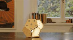 D-TWELVE LAMP. A modular magnetic lighting system by Plato Design —Kickstarter