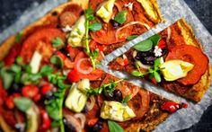 Lentil Pizza Crust [Vegan, Gluten-Free] | One Green Planet