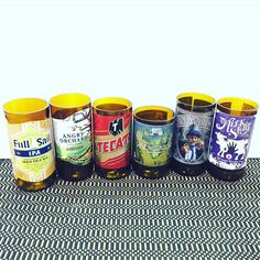 Got an #etsy #order for a #sixpack of #beer #bottle #candles. They asked us to pick the #bottles Now we have to #grind and smooth the edges. Then we can #wick them and #pour the #scented #wax #etsylife #candlelove #candlemaking #candlemaker #beers #beersofinstagram #etsyseller #etsysellersofinstagram
