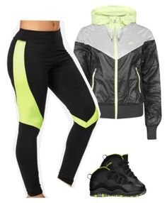"""Untitled #542"" by prettygirlnunu ❤ liked on Polyvore featuring NIKE and Retrò"