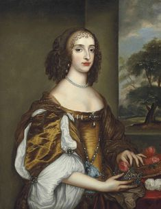 Princess Mary of Orange, by unknown