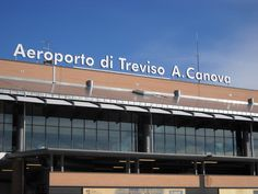 Venice Treviso Airport.  Laughingly labelled as Venice's airport, despite being a full 20km away: another budget airline special!