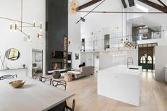Linc Thelen Design and Scrafano Architects transformed a long-abandoned turn-of-the-century church into a stunning contemporary family home for five.