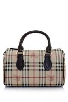 625a29c9ef02 Burberry Haymarket Chester Bowler Bag (THB 29