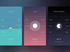 Hi!  I'm very happy to announce that Marline is available today!  The app has tides, weather and moon info. I invite you to explore all little details.  You push me to make 'Weather App' real, so t...