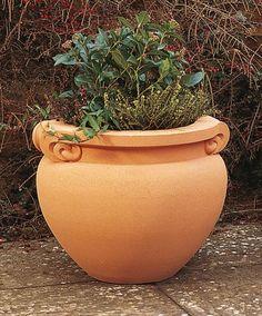 Haddonstone Scrolled Jardiniere Small Planter - GardenSite.co.uk