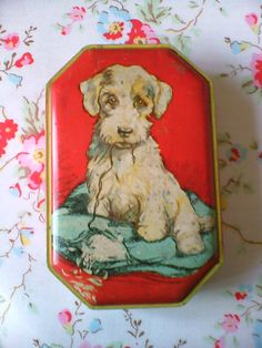 Vintage Toffee Tin