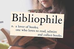 Bibliophile: A lover of books; one who loves to read, admire, and collect books I Love Books, Books To Read, My Books, Words To Use, Love Words, Lovers Day, Book Lovers, Carl Jung Frases, Book Gif