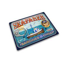 Giftshop :: Proizvodi :: Daska za sečenje Seafarer Sardine Can