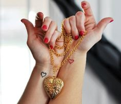 Twin Heart Tattoos