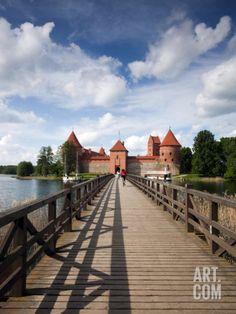 Trakai Island Castle ~ Lake Galve, Lithuania