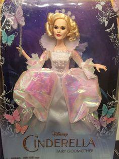 "Disney Cinderella Movie GODMOTHER Doll 11"" Action Figure Wedding Barbie Size #Disney #Dolls"