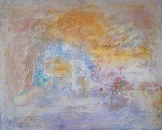 DORIS DUSCHELBAUER  mixed media VIVO CON MIL SENTIDOS 65  x 81 cm