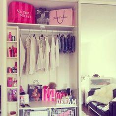 ❤closet/home dressing room/makeup station/home makeup room/home beauty room inspiration