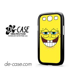 Spongebob Squarepants Smiles For Samsung Galaxy S3 Case Phone Case Gift Present YO