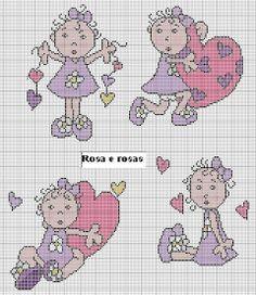 Graficos da Amiga Rosa & Rosas