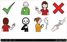 SOFTWARE - Comunicador Hermes (Android).  O Hermes é um aplicativo voltado para pessoas que não possuem a capacidade de se comunicar de forma fluente oral ou escrita. Através de um dispositivo móvel (celular ou tablet) o usuário tem acesso a diversas pranchas de comunicação virtuais e customizáveis que sintetizam voz, estabelecendo a comunicação através de imagens (símbolos pictóricos).  https://play.google.com/store/apps/details?id=com.gsampaio.hermes&hl=es