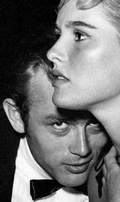 James Dean and Ursula Andress #cinema
