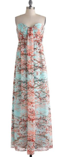 Branches of Beauty Dress $177.99  www.modcloth.com