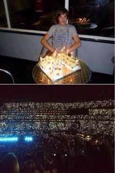 Liam's 16th birthday vs. now, Happy Birthday babe!
