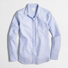 J.Crew+Factory+-+Oxford+shirt+in+perfect+fit