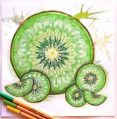 Attractive & Colorful Mandala Art by German Young Artist Sarah.|FunPalStudio|Illustrations, Entertainment, beautiful, creativity, nature, Art, Artwork, Artist, drawings, paintings, Mandala Art, design, colors.