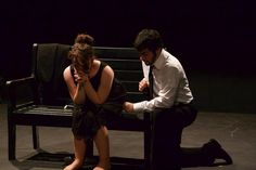 """Acting II 2014. Gruesome Playground Injuries. """"...she's this angel."""""""
