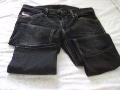 mens diesel thanaz jeans Wash# 008QQ slim skinny 34x30 #DIESEL #SlimSkinny