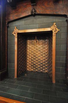 Circa 1909: Fireplace Insert at 3814 Utah | 3814 Utah | Pinterest ...