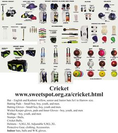 Sweetspot is a sports equipment supplier that supplies a large range of sports. Keeper Gloves, Cricket Bat, Boy Boy, Batting Gloves, Netball, Small Boy, Sports Equipment, Clothing Accessories, Helmets