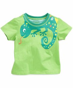 First Impressions Baby Boys' Lizard Top