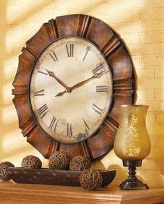Restoration Antique Wall Clock